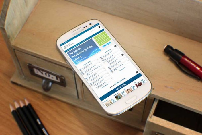 Cedar Mill Community Library Mobile Website